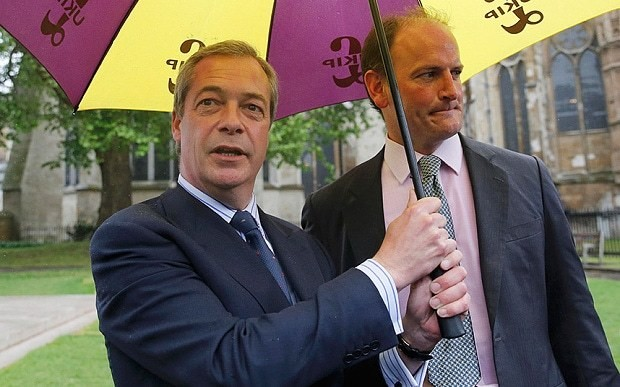 Ukip row: Nigel Farage 'plotted against himself', claims Suzanne Evans