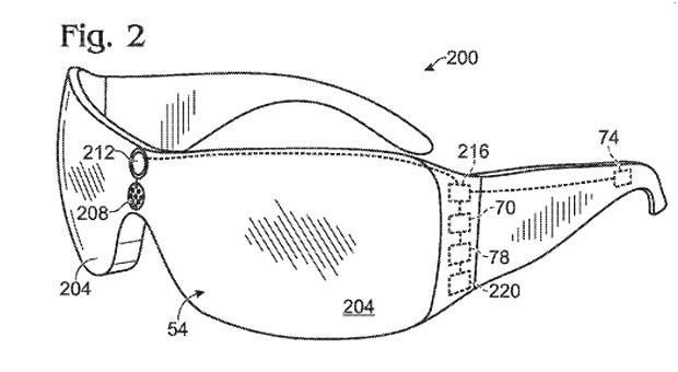 Microsoft files patent for augmented reality glasses