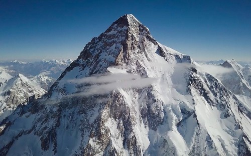 Polish mountaineer becomes first person ever to ski off summit of K2, the world's second highest mountain