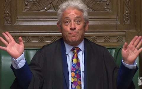 John Bercow has thrown another spanner in the already mangled Brexit works