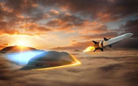 Raytheon tests 3D-printed hypersonic missile that can travel at 4,600mph