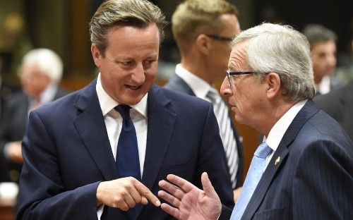 Britain asked for more cash as migrant crisis strains EU budget