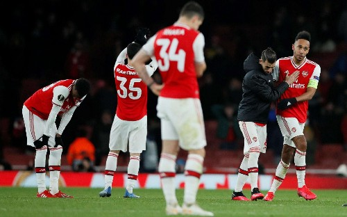 Arsenal's early Europa League exit will cost them tens of millions of pounds in lost revenues