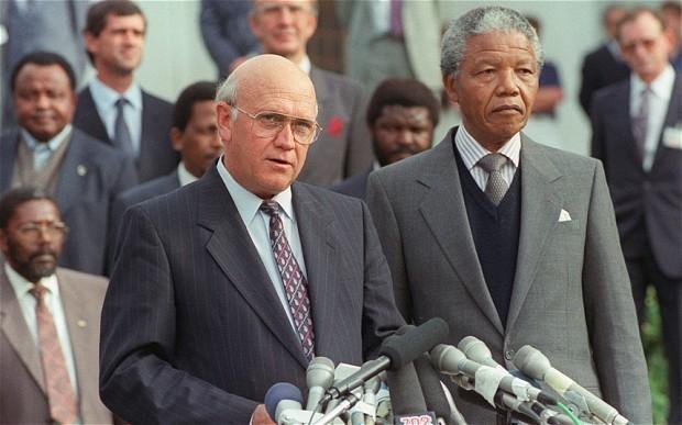 Nelson Mandela's fraught relationship with FW de Klerk