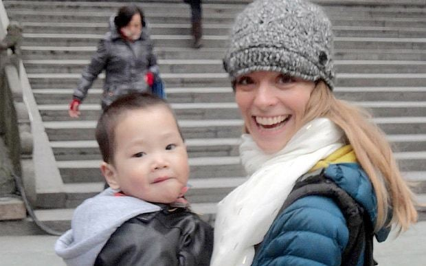 Mother tracks down parents of her adopted Chinese son before he goes blind