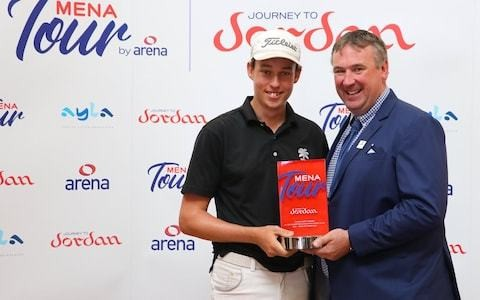 Josh Hill enters golf's record books after Al Ain Open triumph but misses out on £10,000 prize money