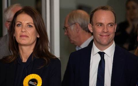 Dominic Raab clings on to seat as he blasts Lib Dem 'dirty campaigners'