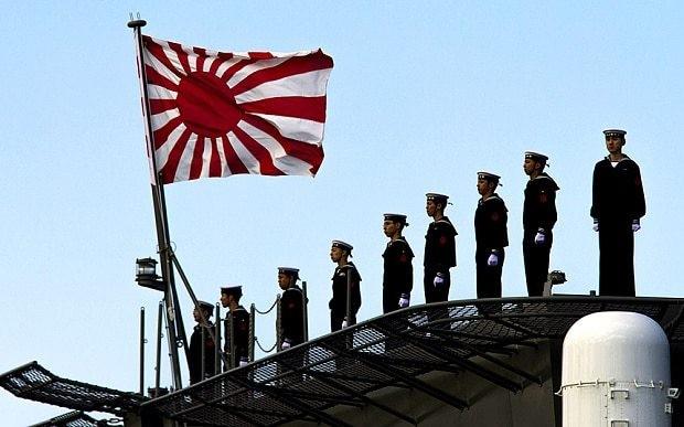 Japan receives biggest warship since Second World War