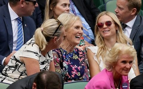 Mary Berry and gift shop are biggest Wimbledon pulls in absence of star cast