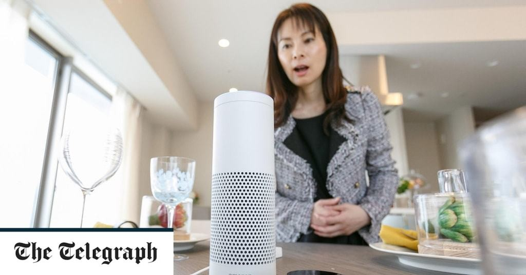 Civil servants barred from having smart speakers on in rooms amid fears they could listen in on confidential zoom meetings