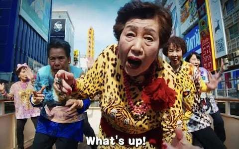 Japanese grannies release rap video to welcome G20