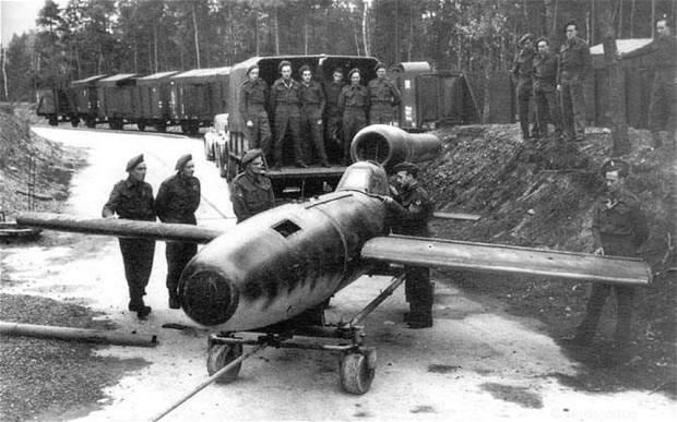 Hitler's kamikaze doodlebug set to go on display in Britain