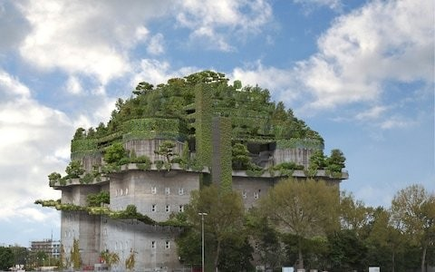 Former Nazi bunker to be redeveloped as a futuristic hotel