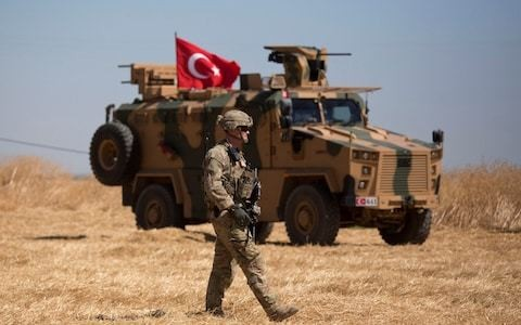 Three million Syrian refugees could be repatriated into safe zone in northeast, Turkey says