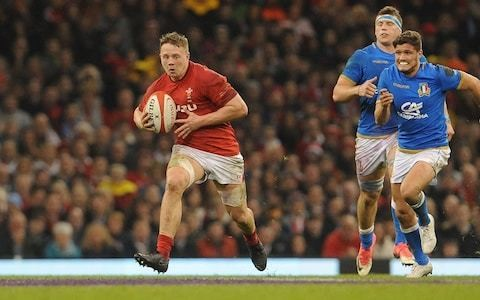 Wales flanker James Davies - 'I have been doubted throughout my career, I thrive on proving those people wrong'