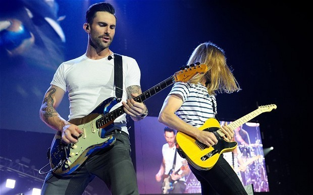 Maroon 5, O2 Arena, review