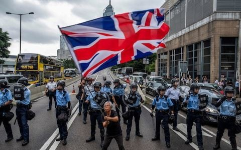 Hong Kongers know the values behind the Union flag - but do the British?