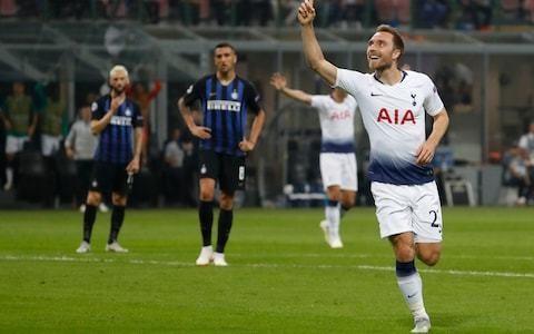 Tottenham midfielder Christian Eriksen on verge of Inter Milan move