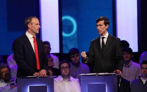 Rory Stewart is the only serious threat to Boris Johnson – and the TV debate proved it