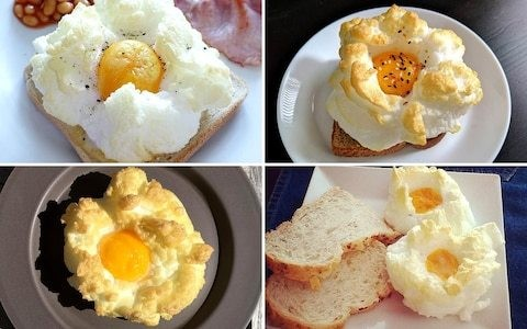 Cloud eggs: Instagram's favourite new food fad