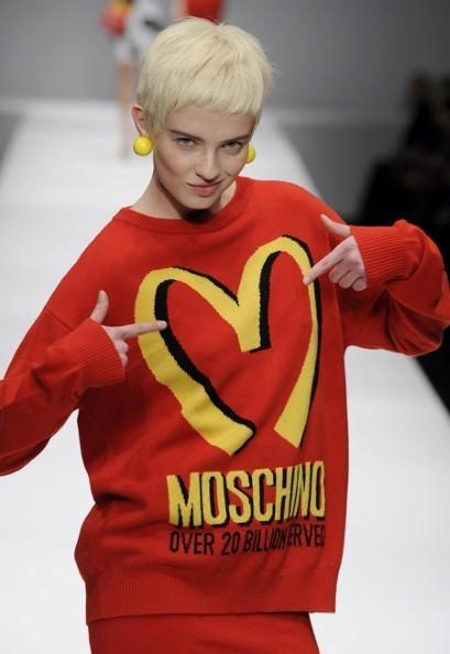 Moschino autumn/winter 2014 at Milan Fashion Week