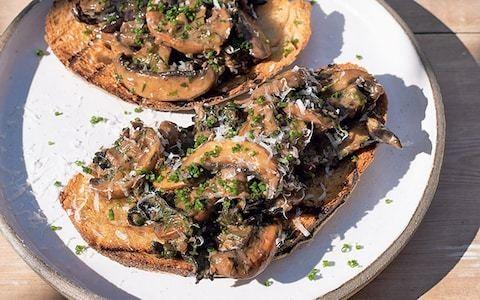 The ultimate mushrooms on toast recipe