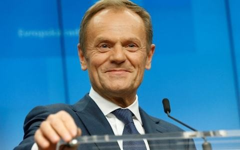 Donald Tusk accused of meddling in British politics after backing Change UK candidate