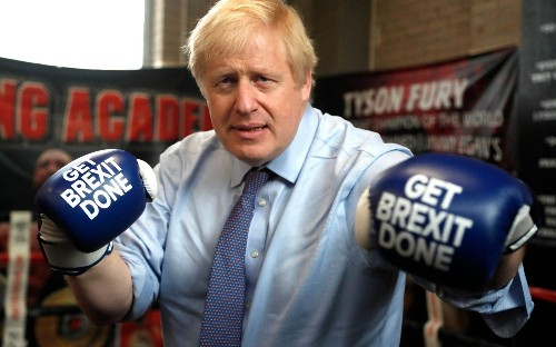 Brexit, boxing and beer, the best of Boris's campaign trail, in pictures