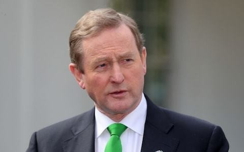 Tory pact with the DUP could risk Northern Ireland peace process, says Enda Kenny