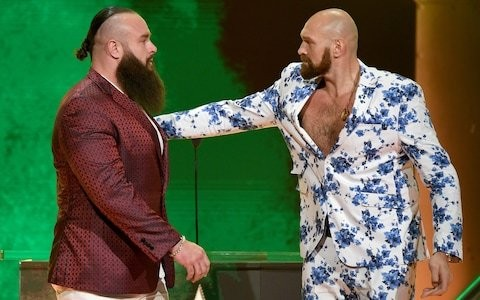 Tyson Fury ideally suited to crazy world of wrestling