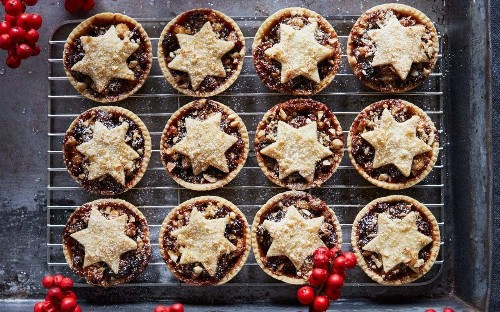 Try a twist on mince pies and a white chocolate cheesecake for Christmas