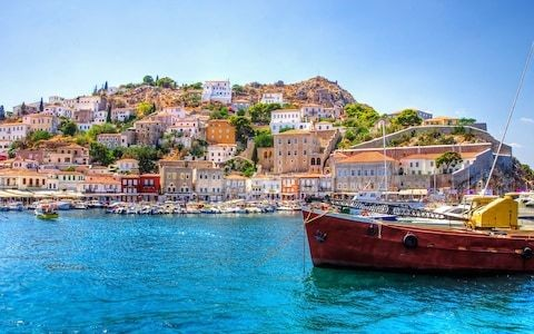 Island-hopping in Greece on a cruise ship small enough to transit the Corinth Canal