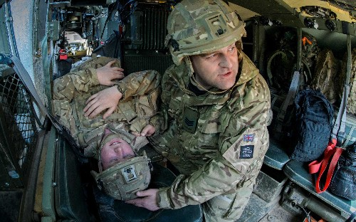 The Royal Marines, RAF, 1 Mercians and the US Army train together, in pictures