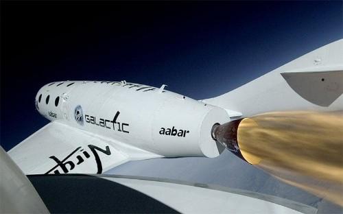 Virgin Galactic plane breaks sound barrier during first rocket-powered flight