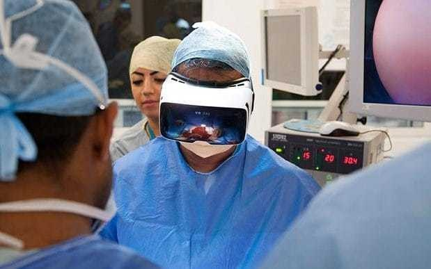 British patient to undergo world's first virtual reality cancer operation