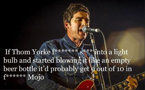 Noel Gallagher's best insults: in pictures