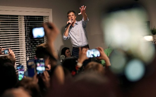 O'Rourke raises $6 million in first 24 hours of campaign as Republicans attack candidate 'dripping in white male privilege'