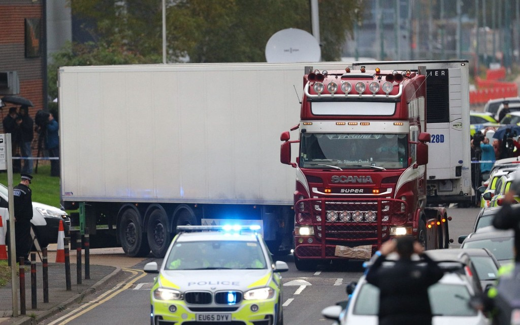 Gang of 26 arrested for allegedly smuggling people from Vietnam to Europe in investigation prompted by Essex lorry deaths