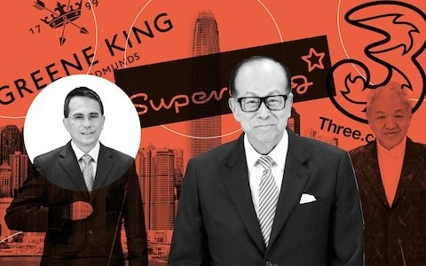 Changing of the guard as Li Ka-shing hands the reins of his global empire to son Victor
