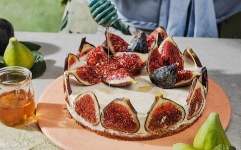 Fig and kefir cheesecake recipe