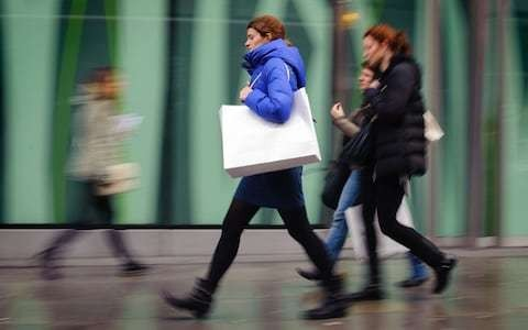Retail sales defy high street slowdown to hit four-month high
