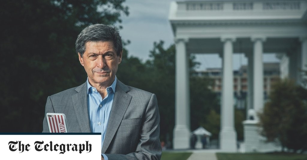 Inside Trump's White House: Jon Sopel on being spat at, hacked and going head-to-head with the President