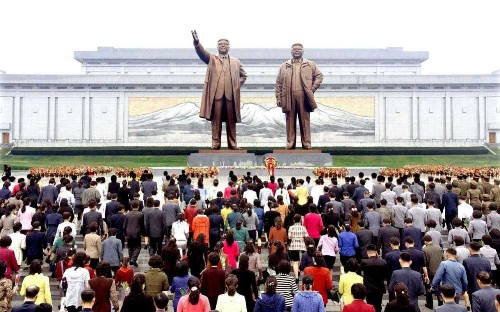North Korea steps up security around monuments to Kim family as anger grows over poor living standards