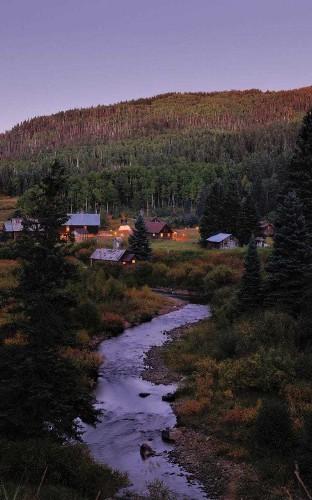 Great Escape: Dunton Hot Springs, Colorado's gold-rush ghost town reborn