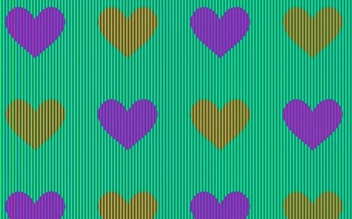 Optical illusion: These hearts are all the same colour - so why do they look different to you?