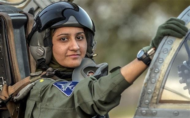 Pakistan's only female fighter pilot is ready for war