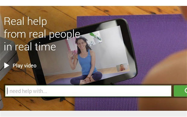 Google Helpouts to provide expert consultations over video chat