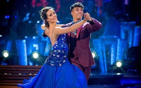 Strictly gets serious