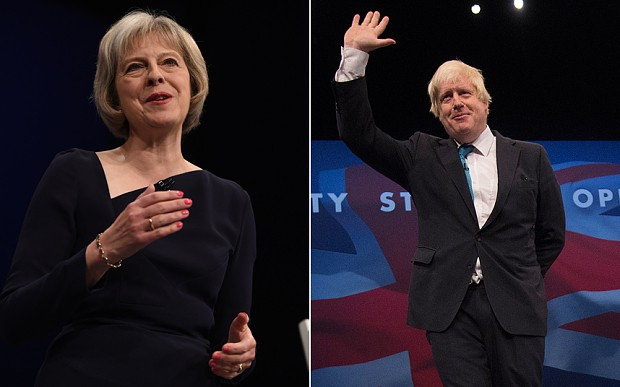 Conservative Party conference: Theresa May and Boris Johnson told to dampen leadership ambitions