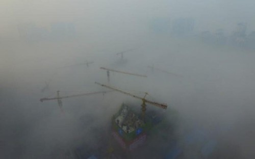 China officials stuff cotton gauze into air monitoring equipment to falsify results